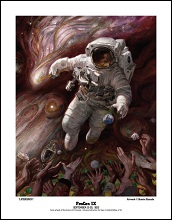 2012 FenCon cover print (limited edition of 50, signed by Donato Giancola)